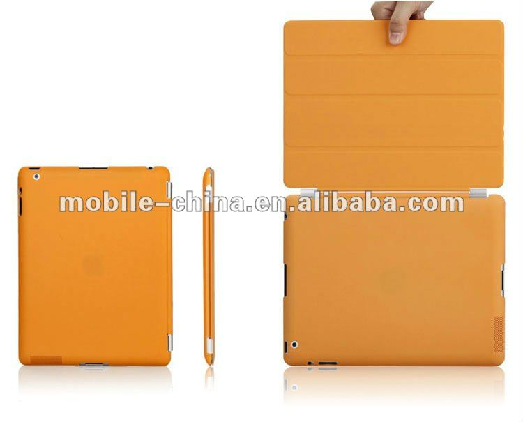 For the new ipad3 smart cover and back case