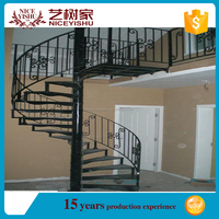 decorative iron stair railing for house,2016 best price iron stair/balcony railing