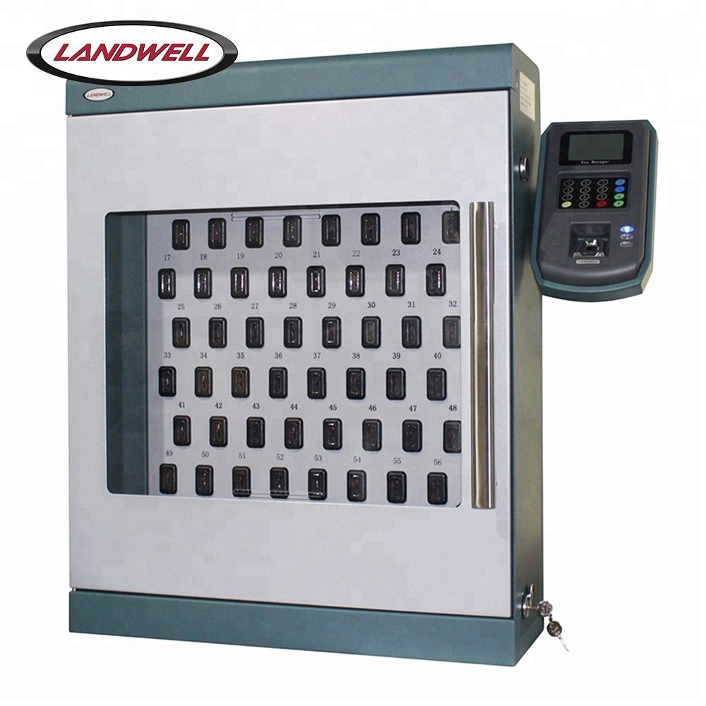 Landwell Fingerprint+RFID Card+PIN Identification Metal Electrical Cabinet <strong>Keys</strong>