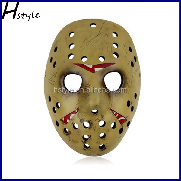 Full Face Halloween PVC Jason Hockey Movie Masks for Sale MJC011