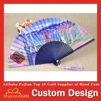 Luxurious Bamboo Decorative Hand Fan With Favorable Price