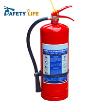 ABC chemical powder empty fire extinguisher bottle