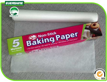 Evershine Brand 35g-58g Virgin Silicone Parchment/Baking Paper