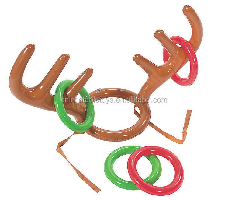 Factory wholesale plastic Inflatable antler