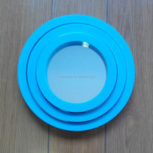 3pcs plastic round bathroom mirror