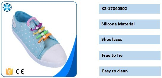 Silicone Shoe Laces Lady Slipper 2017 Accessories