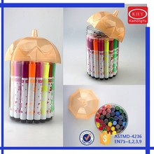 School Stationery Water Based Kids Color Pens