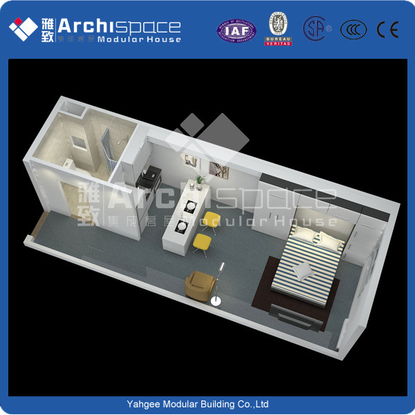 China manufacturer prefab house container house with CE&ISO