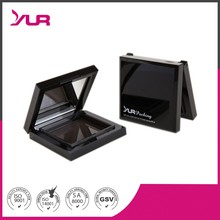 cosmetic empty compact powder container