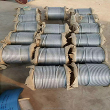 7*7 galvanized Steel Cable Wire Rope