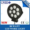 Powerful 80w high power high voltage Cree led 9-32v scooter work light