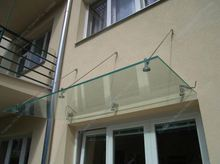 High Quality Glass Awnings Canopies