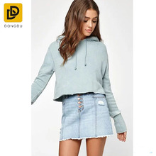 OEM ladies jeans denim garments pants bootcut skinny light blue buttoned denim jeans skirts for female