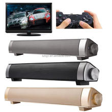 New Mini Bluetooth Soundbar Perfect sound Soundbar USB LP-08 Sound Bar HIFI Soundbar Speaker for TV Computer PC Tablet
