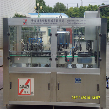 canning machine for beverage