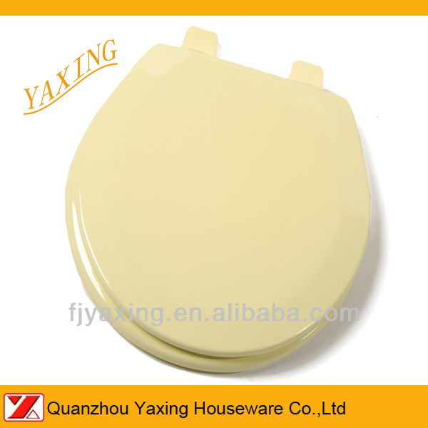 Yaxing high quality molded wooden toilet seat bathroom fitting