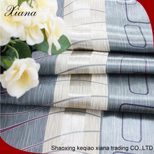 2016 high-end fashion lines curtain blackout with fabric