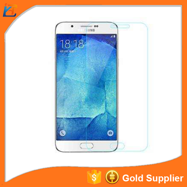 High transparent 2.5D Arc edge tempered glass mobile phone screen protector for Samsung a7