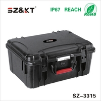plastic tool carrying case with foam insert