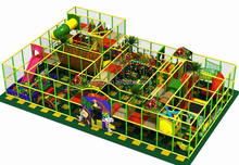 Amusement Naughty Castle Equipment, indoor playground with shooting range