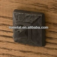 cast iron product forged Square metal fittings