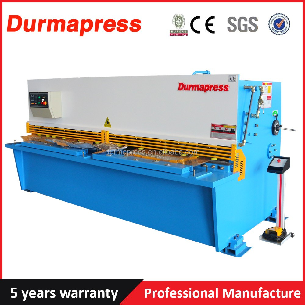 cnc steel stainless plate sheet cut QC12K-20*2500 guillotine shearing machinery shear metal shear machine for sale