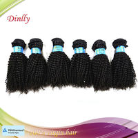 2013 New fashion style Kinky Curly Monglian human hair extension made in china