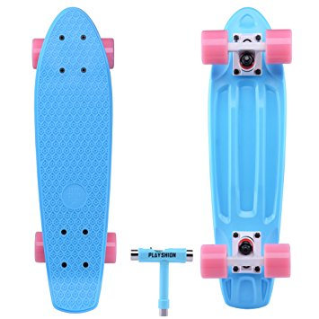 "NEW SKATEBOARD COLOURS 22"" WHEELS SKATE BOARD"