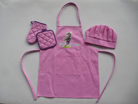 belle dress kids apron and toddler