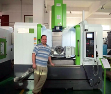 5-axis CNC vertical machining center VMC1060 FHR-255 tilting rotary table