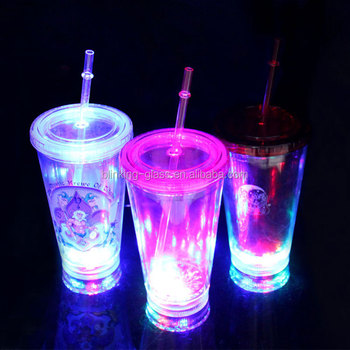 LED flashing double wall Tumbler / Mug / Cup - 16OZ