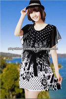 Wholesale Cheap Price New Ladies Hot Summer Suihua Chiffon Dress Bohemian Dress