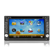 2 Din Car DVD GPS with 3G 6.2 inch for most cars