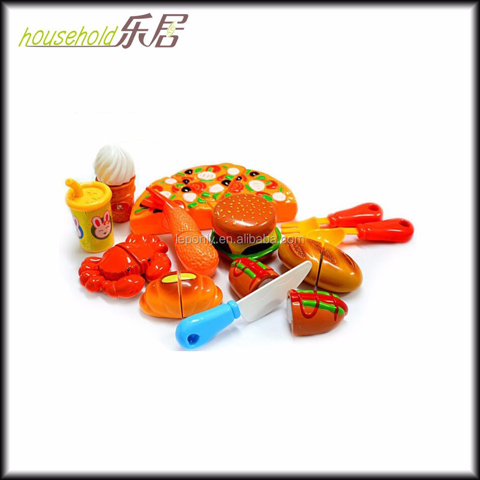 Kitchen Food Play Toy Cutting Vegetable Fruit Knife For Kids Baby Gift