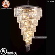 Restoration Hardware Modern Crystal Lighting Chandelier