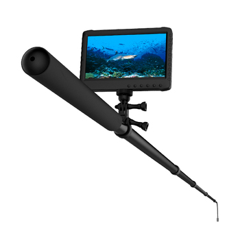 5m 1080P HD telescopic pole underwater inspection cameras for the roof, nest, hole, pipes