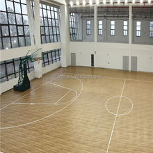 best waterproof high quality portable athletic pvc basketball flooring in stock from china