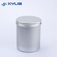 Tall Round 250Ml Aluminum Slim Canister Can With Screw Cap