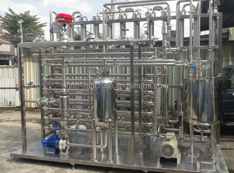 mini milk pasteurization plant