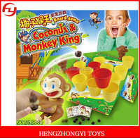 Monkey coconut game interesting family desk game
