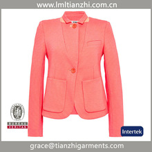 European Newest Spring small suits RED Coat