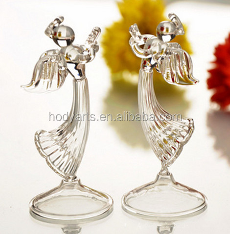 Wholesale New Design and High Quality Glass Decoration Angel