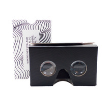 Branded 3D vr cardboard box virtual reality vr glasses google cardboard v2.0