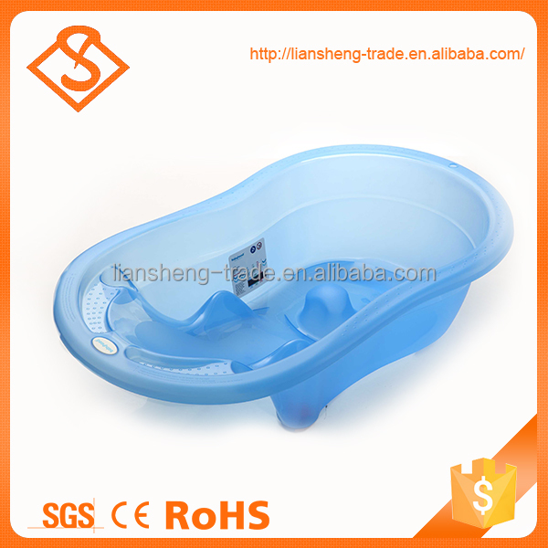 Hot sale blue plastic baby sitting bathtub with cheap price