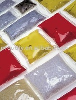 water soluble bag packing pigments. Professional manufacturer of only water-soluble materials.