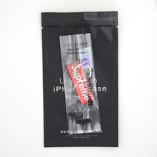 Clear back middle seal bag for cookie packaging candy package