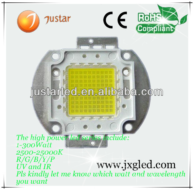 high lumen high power 45mil bridgelux led chip 100w