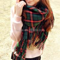 Fashion christmas scarf Wholesale BD--00414
