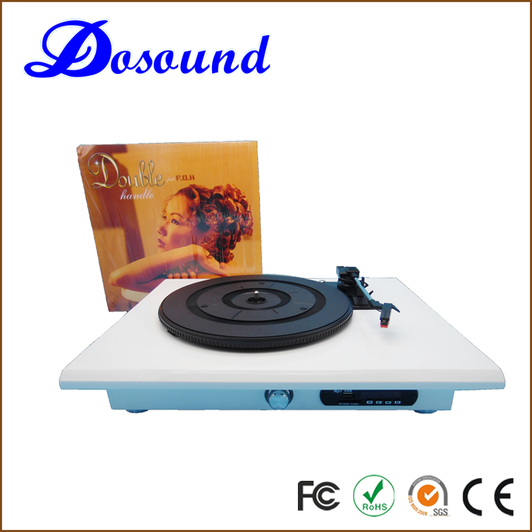 Wholesale best record turntable gramophone ,vinyl records with pc link for home decoration