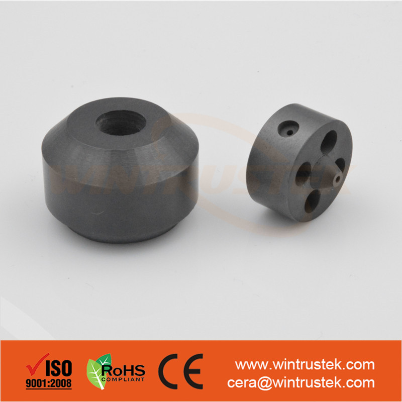 High Wear Resistance Silicon Nitride / Si3N4 Ceramic Bush / bush ring For Moter